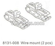 DHK RAZ-R Parts-Wire mount(2pcs) Parts-8131-008 ,DHK RAZ-R Parts,DHK Wolf Parts,DHK HOBBY 8133 8134 Parts