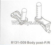DHK RAZ-R Body post-Front and Rear Parts-8131-009,DHK RAZ-R Parts,DHK Wolf Parts,DHK HOBBY 8133 8134 Parts