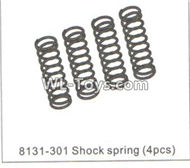 DHK RAZ-R Shock spring(4pcs) Parts-8131-301,DHK RAZ-R Parts,DHK Wolf Parts,DHK HOBBY 8133 8134 Parts