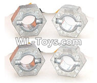 DHK RAZ-R Wheel hub Parts(4pcs)-8131-706,DHK RAZ-R Parts,DHK Wolf Parts,DHK HOBBY 8133 8134 Parts