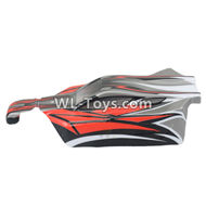 DHK RAZ-R Body Shell Parts-Buggy painted body,8133 rc car shell cover Parts-8133-001,DHK RAZ-R Parts,DHK Wolf Parts,DHK HOBBY 8133 8134 Parts