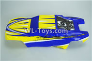 DHK RAZ-R Body Shell Cover-Truggy painted body,8134 RC Truck shell cover Parts-8134-001,DHK RAZ-R Parts,DHK Wolf Parts,DHK HOBBY 8133 8134 Parts