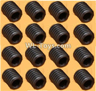 DHK RAZ-R Parts-M4 Lock Nut(M4X4mm),M4 Set screws-16pcs Parts-8381-204,DHK RAZ-R Parts,DHK Wolf Parts,DHK HOBBY 8133 8134 Parts