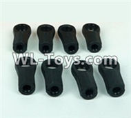 DHK RAZ-R Parts-Plastic Rod end(8pcs) Parts-8381-6Z2,DHK RAZ-R Parts,DHK Wolf Parts,DHK HOBBY 8133 8134 Parts
