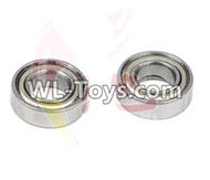 DHK RAZ-R Parts-Ball bearing(6X12X4mm)-2pcs Parts-8381-710,DHK RAZ-R Parts,DHK Wolf Parts,DHK HOBBY 8133 8134 Parts