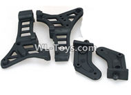 DHK RAZ-R Parts-Wing mount and Wing brace-Left and Right Parts-8381-804,DHK RAZ-R Parts,DHK Wolf Parts,DHK HOBBY 8133 8134 Parts