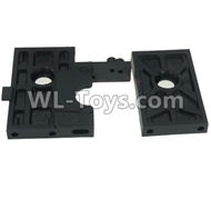 DHK Crosse Parts-Reduction mounting plate A and B Parts-8136-203,DHK Crosse 8136 RC Car Parts,DHK Hobby Crosse 8136 Parts