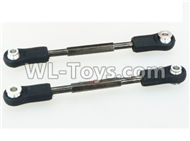 DHK Crosse Parts-Assembly of steering linkage(2pcs) Parts-8136-6Z0,DHK Crosse 8136 RC Car Parts,DHK Hobby Crosse 8136 Parts