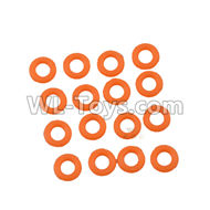 DHK Crosse Parts-O Ring(8X2mm)-16pcs Parts-8381-109,DHK Crosse 8136 RC Car Parts,DHK Hobby Crosse 8136 Parts