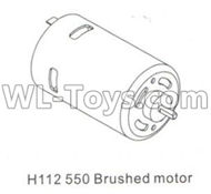DHK Crosse Parts-550 Brushed motor Parts-H112,DHK Crosse 8136 RC Car Parts,DHK Hobby Crosse 8136 Parts