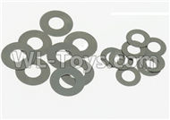 DHK Maximus Parts-Washer-A & Washer-B(8pcs each) Parts-8381-107,DHK Hobby Maximus 8382 Parts,DHK 8382 RC Truck Parts