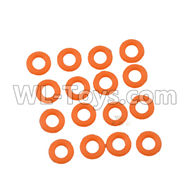 DHK Maximus Parts-O Ring(8X2mm)-16pcs Parts-8381-109,DHK Hobby Maximus 8382 Parts,DHK 8382 RC Truck Parts