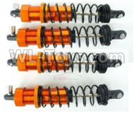 DHK Maximus Shock absorber complete Parts(4pcs) Parts-8381-300-02,DHK Hobby Maximus 8382 Parts,DHK 8382 RC Truck Parts