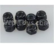 DHK Maximus Parts-M3 Nylon Nut(8pcs) Parts-8381-306,DHK Hobby Maximus 8382 Parts,DHK 8382 RC Truck Parts