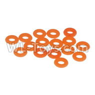 DHK Maximus Parts-O Ring,Drive shaft anti-off ring(16pcs) Parts-8381-308,DHK Hobby Maximus 8382 Parts,DHK 8382 RC Truck Parts