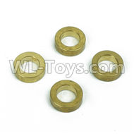 DHK Maximus Parts-Brass washer,Steering buffer set copper sleeve(4pcs) Parts-8381-601,DHK Hobby Maximus 8382 Parts,DHK 8382 RC Truck Parts
