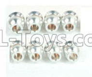 DHK Maximus Parts-Double Way ball end(8pcs) Parts-8381-6Z3,DHK Hobby Maximus 8382 Parts,DHK 8382 RC Truck Parts