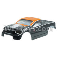 DHK Maximus Body Shell Parts-Painted body(PVC Body),8382 rc car shell Parts-8382-012,DHK Hobby Maximus 8382 Parts,DHK 8382 RC Truck Parts