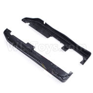 DHK Zombie 8384 Parts-Side guard-Left and Right Parts-8381-002,DHK Hobby Zombie 8E 8384 RC Truck Parts