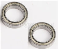 DHK Zombie 8384 Ball bearing,Wheel Bearing(10X15X4mm)-2pcs Parts-8381-110,DHK Hobby Zombie 8E 8384 RC Truck Parts