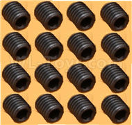 DHK Zombie 8384 Parts-M4 Lock Nut(M4X4mm),M4 Set screws-16pcs Parts-8381-204,DHK Hobby Zombie 8E 8384 RC Truck Parts