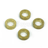 DHK Zombie 8384 Parts-Brass washer,Steering buffer set copper sleeve(4pcs) Parts-8381-601,DHK Hobby Zombie 8E 8384 RC Truck Parts
