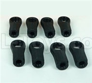 DHK Zombie 8384 Parts-Plastic Rod end(8pcs) Parts-8381-6Z2,DHK Hobby Zombie 8E 8384 RC Truck Parts