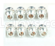 DHK Zombie 8384 Parts-Double Way ball end(8pcs) Parts-8381-6Z3,DHK Hobby Zombie 8E 8384 RC Truck Parts