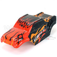 DHK Zombie 8384 Parts-Painted body,Car shell,Car shell cover Parts-8384-002,DHK Hobby Zombie 8E 8384 RC Truck Parts