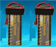 DHK Zombie 8384 Upgrade Battery-11.1V 5200mah battery,Size is perfect,Run more time(2pcs) Parts-H106 P117-02,DHK Hobby Zombie 8E 8384 RC Truck Parts