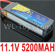 DHK Zombie 8384 Battery Parts-Upgrade 11.1V 5200MAH Battery(1pcs)-3S Battery Parts,DHK Hobby Zombie 8E 8384 RC Truck Parts