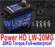 DHK Zombie 8384 Servo Parts-JPower HD LW-20MG,20KG Torque Servo)-Full-waterproof Parts,DHK Hobby Zombie 8E 8384 RC Truck Parts