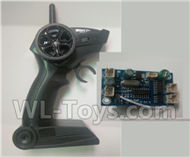Fayee FY001 Parts-05 Transmitter,Remote control & Circuit board,Receiver board,FAYEE FY001 RC Car Parts,FY001 RC Military Truck Spare parts Accessories,M35-A2 1:16 4WD High Speed Buggy Parts
