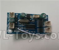 Fayee FY001 Parts-07 Circuit board,Receiver board,FAYEE FY001 RC Car Parts,FY001 RC Military Truck Spare parts Accessories,M35-A2 1:16 4WD High Speed Buggy Parts