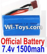 FeiYue FY-01 Spare Parts-35-01 FY-7415 Official 7.4V 1500MAH Battery,FeiYue FY-01 RC Car Parts,FY01 FY-01 RC Truck Spare parts Accessories,1:12 4WD High Speed Buggy Parts