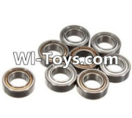 FeiYue FY-01 Spare Parts-61-01 W12045 Ball bearing(8pcs)-9X5X3mm,FeiYue FY-01 RC Car Parts,FY01 FY-01 RC Truck Spare parts Accessories,1:12 4WD High Speed Buggy Parts