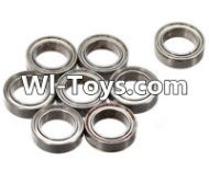 FeiYue FY-01 Spare Parts-61-02 W12046 Ball bearing(8pcs)-12X8X3.5mm,FeiYue FY-01 RC Car Parts,FY01 FY-01 RC Truck Spare parts Accessories,1:12 4WD High Speed Buggy Parts