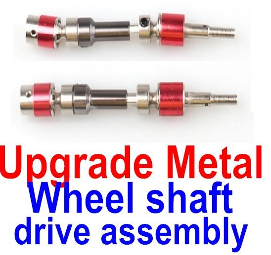 FeiYue FY-02 Spare Parts-34-02 FY-CD01 Upgrade Metal Wheel shaft drive assembly(2 set),FeiYue FY-02 RC Car Parts,FY02 FY-02 RC Truck Spare parts Accessories,1:12 4WD High Speed Buggy Parts