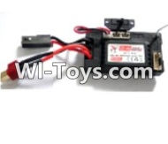 FeiYue FY-02 Spare Parts-38 FY-RX01 Circuit board,Receiver board,FeiYue FY-02 RC Car Parts,FY02 FY-02 RC Truck Spare parts Accessories,1:12 4WD High Speed Buggy Parts
