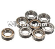 FeiYue FY-02 Spare Parts-61-01 W12045 Ball bearing(8pcs)-9X5X3mm,FeiYue FY-02 RC Car Parts,FY02 FY-02 RC Truck Spare parts Accessories,1:12 4WD High Speed Buggy Parts