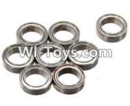 FeiYue FY-02 Spare Parts-61-02 W12046 Ball bearing(8pcs)-12X8X3.5mm,FeiYue FY-02 RC Car Parts,FY02 FY-02 RC Truck Spare parts Accessories,1:12 4WD High Speed Buggy Parts