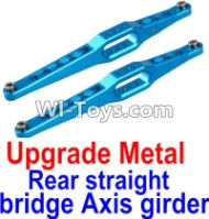 FeiYue FY03 FY-03 Upgrade Metal Rear straight bridge Axis girder for the Rear Swing Arm(2pcs) Parts-,FeiYue FY03 Parts