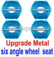 FeiYue FY03 FY-03 Upgrade Metal Combination device, six angle wheel seat(4pcs) Parts-,FeiYue FY03 Parts