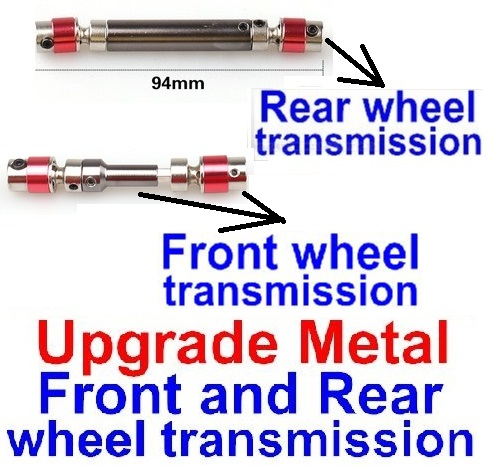 FeiYue FY03 FY-03 Upgrade Metal Front and Rear wheel transmission assembly(2 set) Parts-FY-CD03,FeiYue FY03 Parts