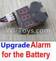 FeiYue FY-04 Spare Parts-35-04 Upgrade Alarm for the Battery,Can test whether your battery has enouth power,FeiYue FY-04 RC Car Parts,FY04 FY-04 RC Motorcycle Truck Spare parts Accessories,1:12 4WD High Speed Buggy Parts
