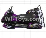 FeiYue FY-04 Spare Parts-42-03 FY-CK04 Whole desert Car canopy Assembly,desert Shell Assembly-Purple,FeiYue FY-04 RC Car Parts,FY04 FY-04 RC Motorcycle Truck Spare parts Accessories,1:12 4WD High Speed Buggy Parts