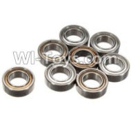 FeiYue FY-04 Spare Parts-61-01 W12045 Ball bearing(8pcs)-9X5X3mm,FeiYue FY-04 RC Car Parts,FY04 FY-04 RC Motorcycle Truck Spare parts Accessories,1:12 4WD High Speed Buggy Parts