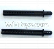 FeiYue FY-04 Spare Parts-64-09 Column for the Car canopy(2pcs)-Long-62mm,FeiYue FY-04 RC Car Parts,FY04 FY-04 RC Motorcycle Truck Spare parts Accessories,1:12 4WD High Speed Buggy Parts