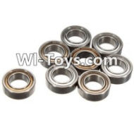 FeiYue FY-05 Spare Parts-61-01 W12045 Ball bearing(8pcs)-9X5X3mm,FeiYue FY-05 RC Car Parts,FY05 FY-05 RC Truck Spare parts Accessories,1:12 4WD High Speed Buggy Parts