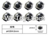 FeiYue FY-05 Spare Parts-63-01 W12056 Ball head sleeve(8pcs)-4.8X4.6mm,FeiYue FY-05 RC Car Parts,FY05 FY-05 RC Truck Spare parts Accessories,1:12 4WD High Speed Buggy Parts